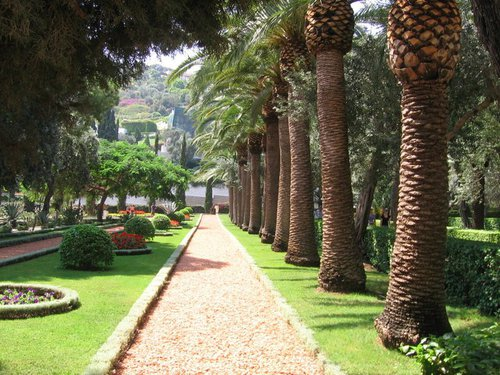 фото Бахайских садов