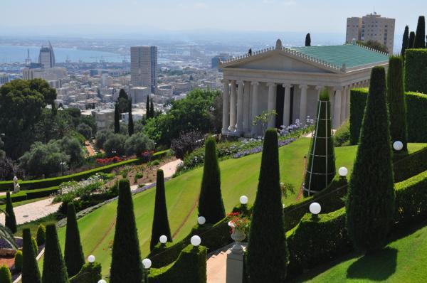 Бахайские сады в Хайфе - блог про Израиль