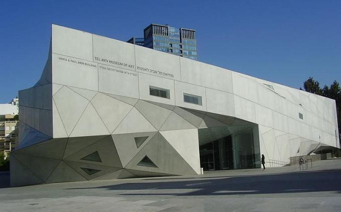 Музей изобразительного искусства Тель - Авив - Блог про Израиль