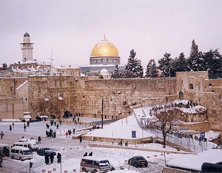 Иерусалим зимой - Блог про Израиль