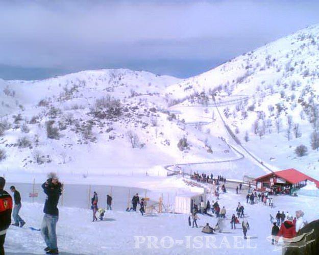 Зимний отдых на лыжах Израиль - Блог про Израиль