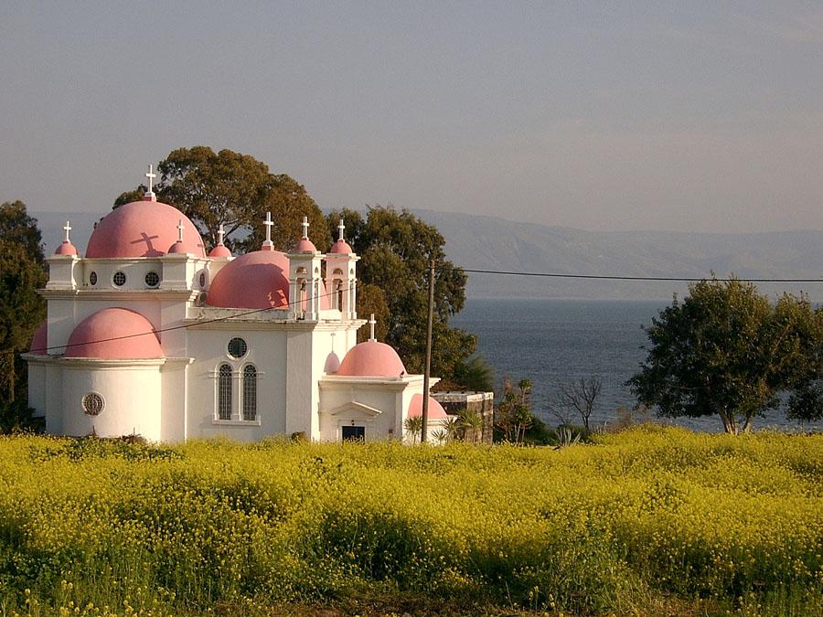 Храмы на берегу Кинерета - Блог про Израиль