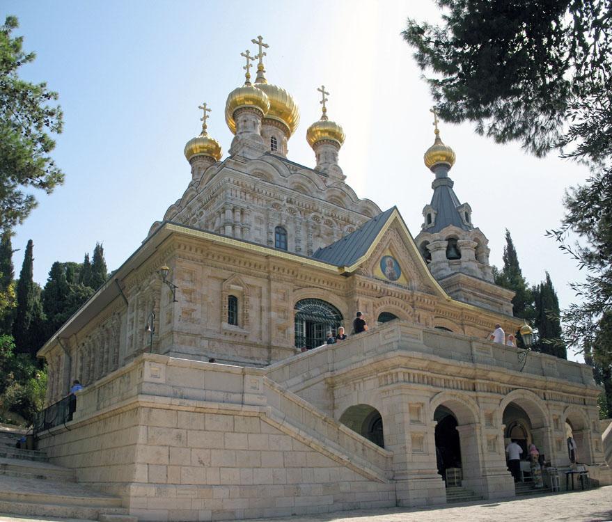 Церковь Марии Магдалины - Блог про Израиль