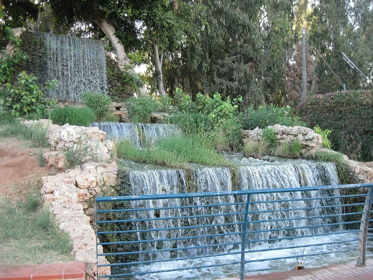 Водопал в парке Леуми - Блог про Израиль