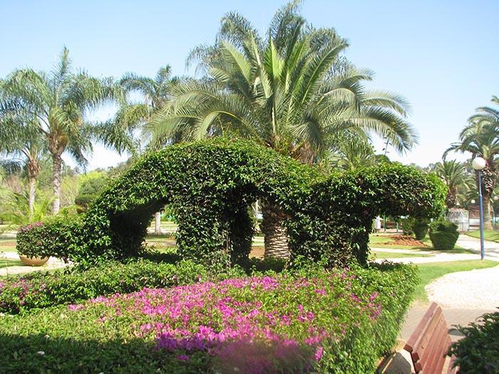 Парк в Рамат Гане - Блог про Израиль