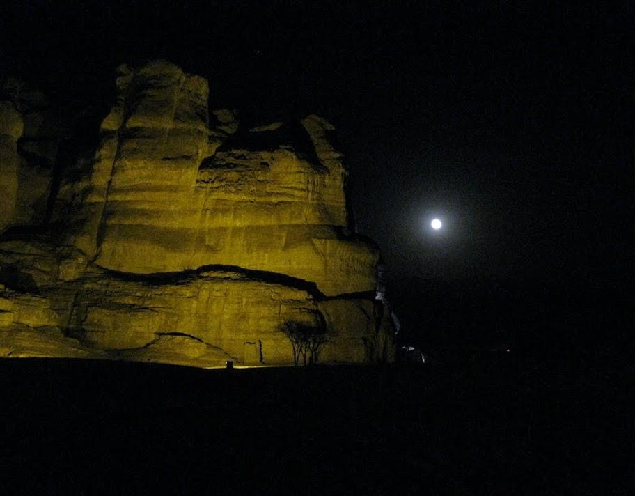 Ночной парк Тимна - Блог про Израиль
