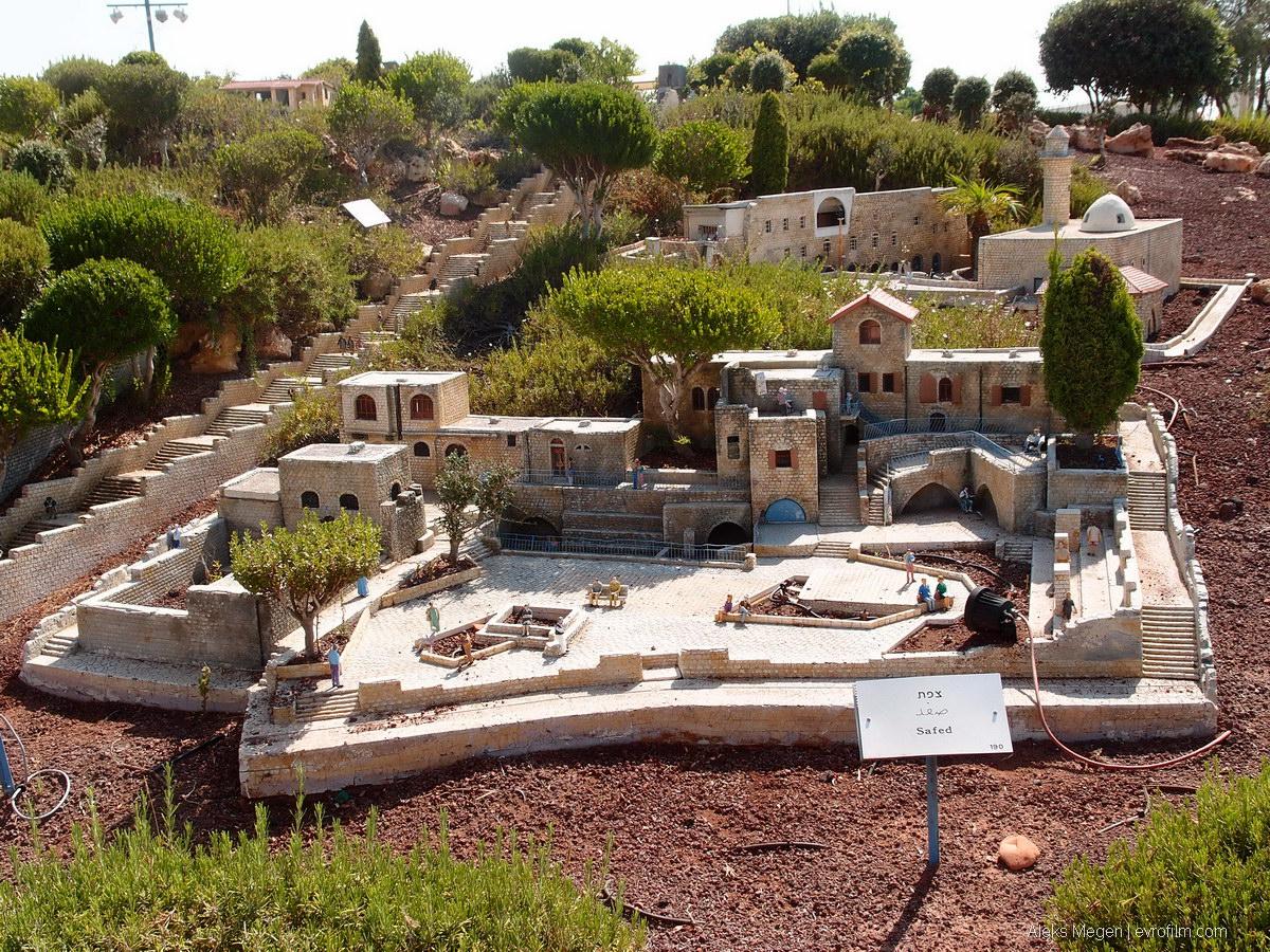 Достопримечательности Израиля в миниатюре - Блог про Израиль