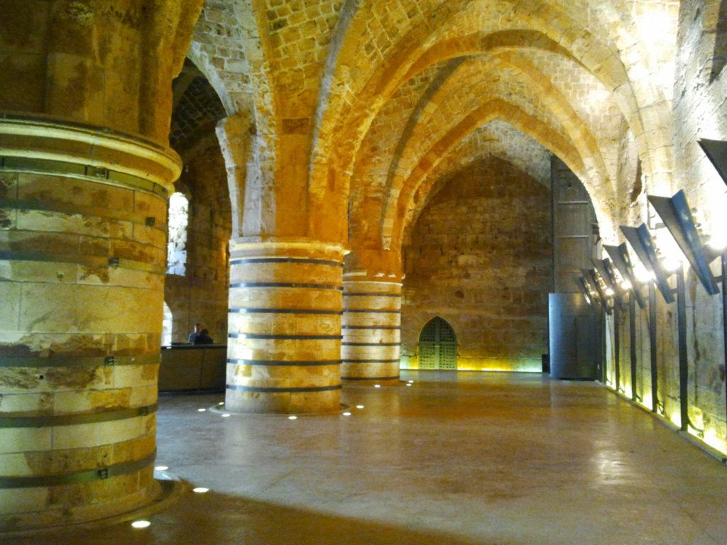 Подземные рыцарские залы - Блог про Израиль