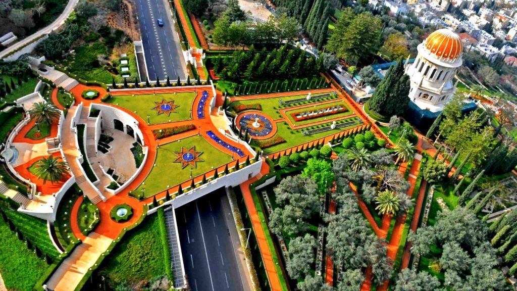 Бахайские сады. Блог про Израиль