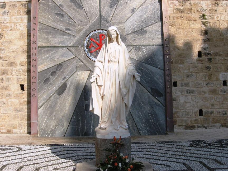 Статуя Марии - Блог про Израиль
