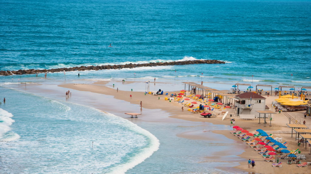 Пляж Сиронит Нетания - Блог про Израиль