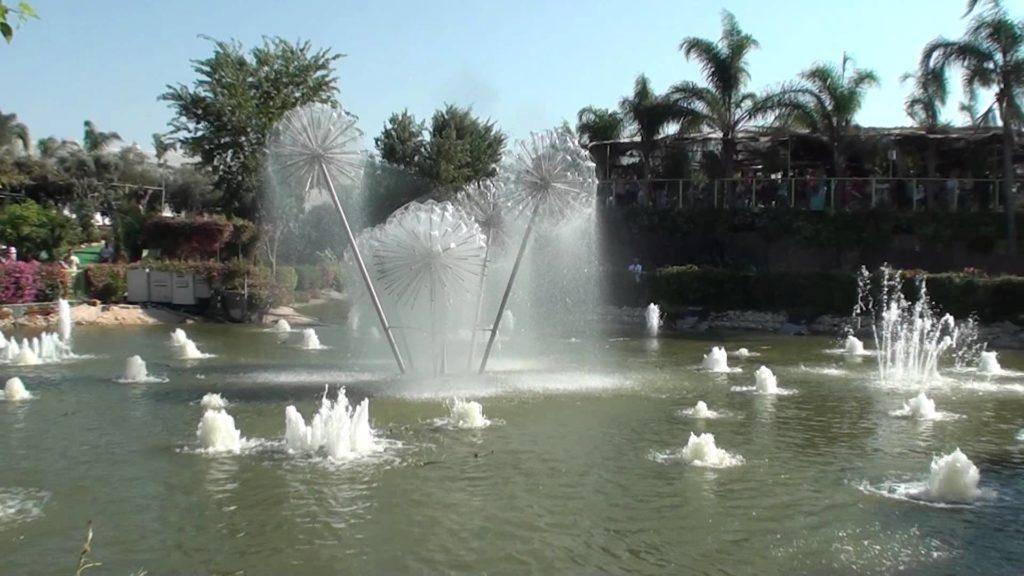 Поющие фонтаны в парке Утопия - Блог про Израиль