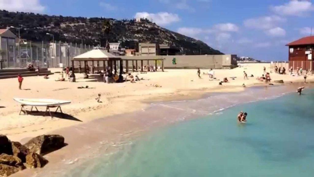 Городской пляж Хайфы - Блог про Израиль