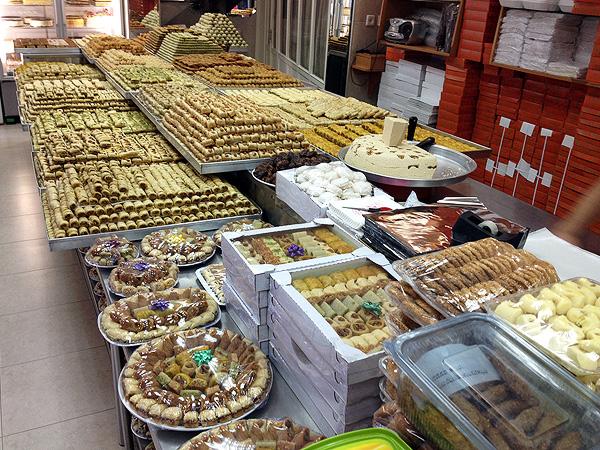 Кафе со сладостями - Блог про Израиль