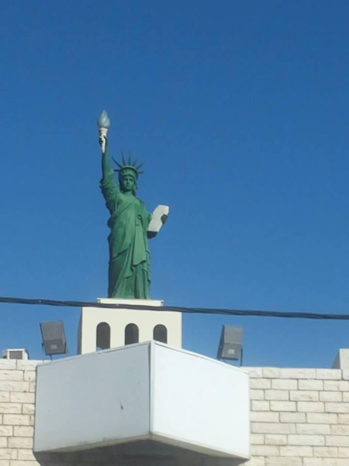 Статуя Свободы в Тверии - Блог про Израиль