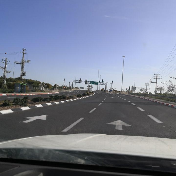 Дороги во время карантина Израиль - Блог про Израиль