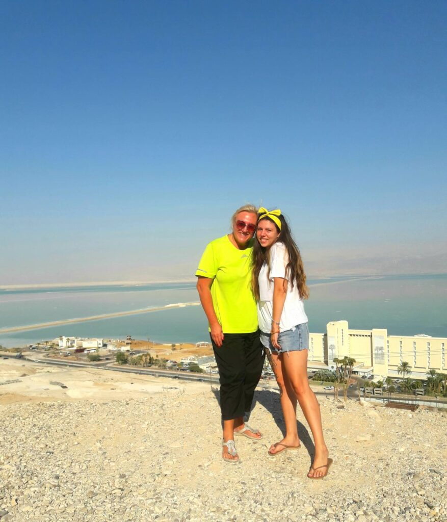 Перелет в Израиль во время карантина. Таня с дочкой